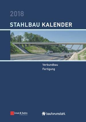 Cover-Bild Stahlbau-Kalender / Stahlbau-Kalender 2018