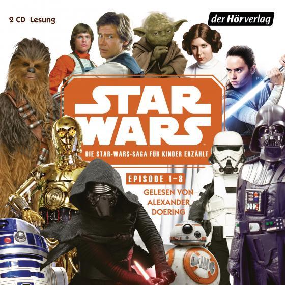 Cover-Bild Star Wars Episode 1-8