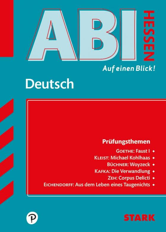 Cover-Bild STARK Abi - auf einen Blick! Deutsch Hessen 2019/2020