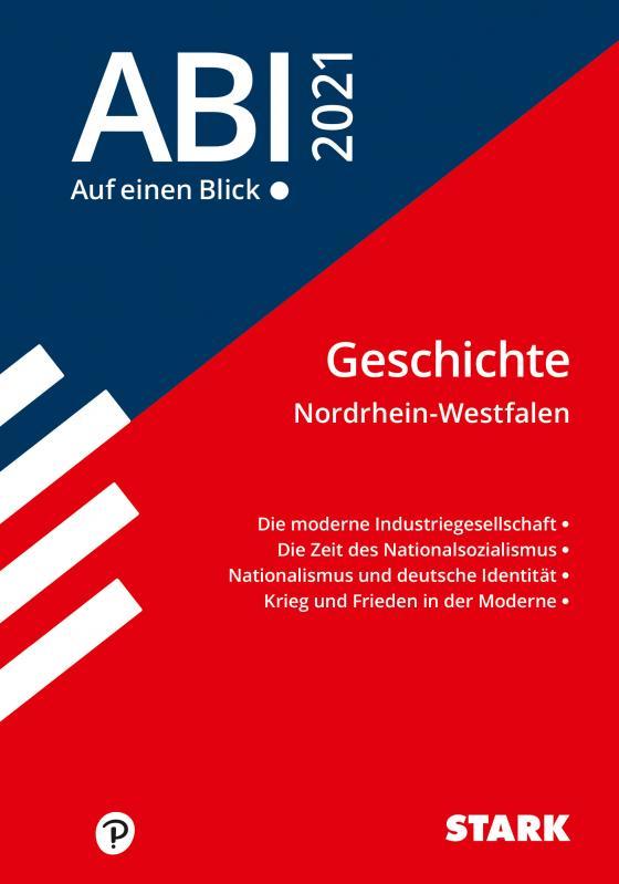 Cover-Bild STARK Abi - auf einen Blick! Geschichte NRW 2021