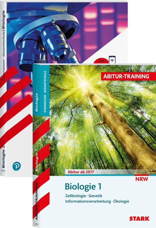 Cover-Bild STARK Abitur-Training - Biologie Band 1 + 2 - NRW