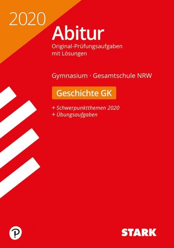 Cover-Bild STARK Abiturprüfung NRW 2020 - Geschichte GK