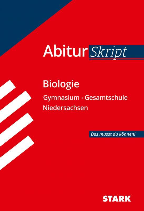 Cover-Bild STARK AbiturSkript - Biologie - Niedersachsen