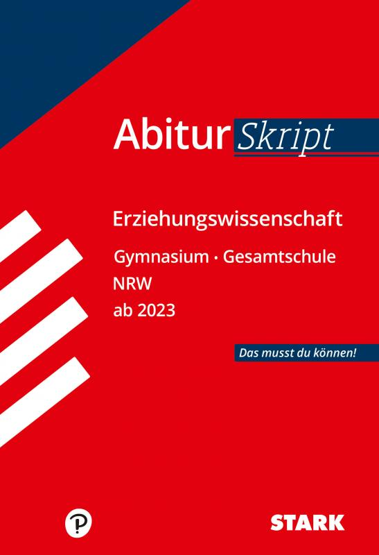 Cover-Bild STARK AbiturSkript - Erziehungswissenschaft - NRW ab 2023