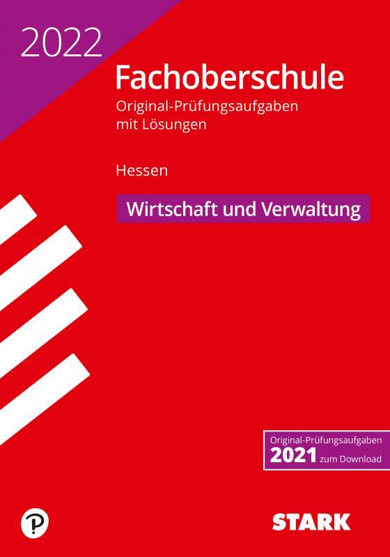 Cover-Bild STARK Abschlussprüfung FOS Hessen 2022 - Wirtschaft und Verwaltung
