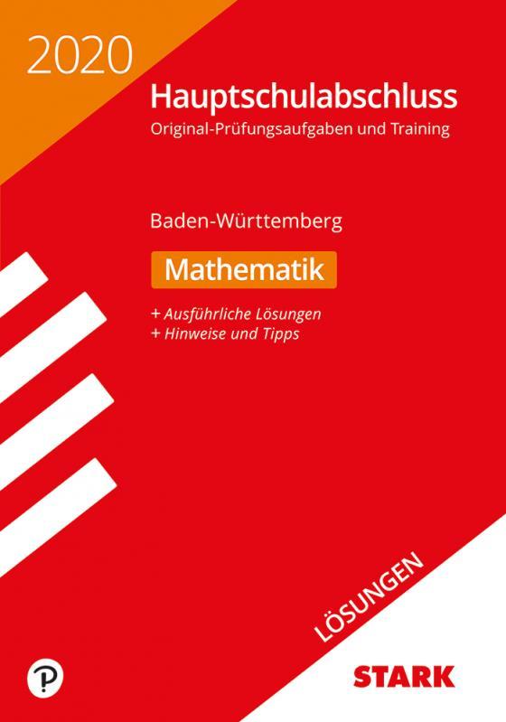 Cover-Bild STARK Lösungen zu Original-Prüfungen und Training Hauptschulabschluss 2020 - Mathematik 9. Klasse - BaWü