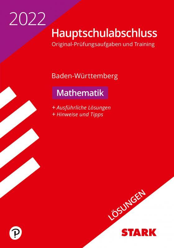 Cover-Bild STARK Lösungen zu Original-Prüfungen und Training Hauptschulabschluss 2022 - Mathematik 9. Klasse - BaWü
