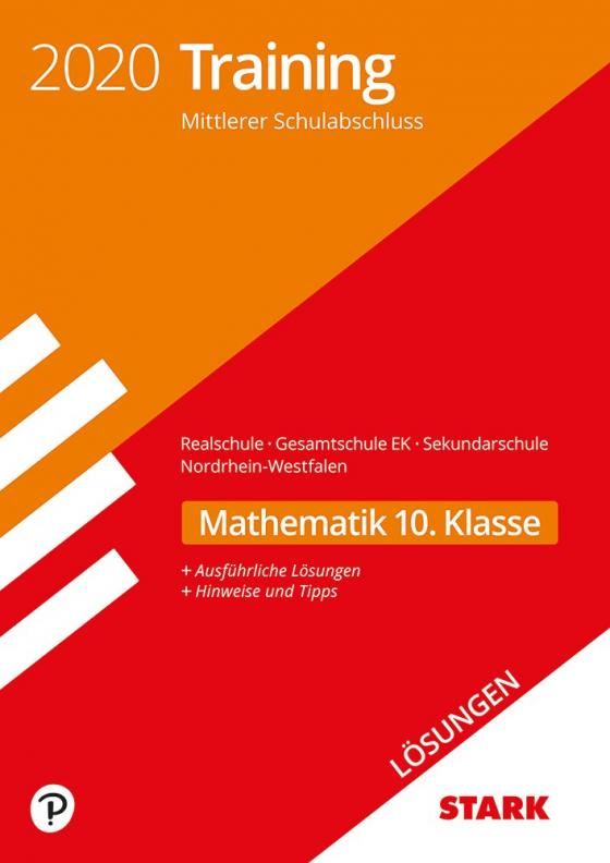 Cover-Bild STARK Lösungen zu Training Mittlerer Schulab- abschluss 2020 - Mathematik - Realschule /Gesamtschule EK/Sekundarschule - NRW