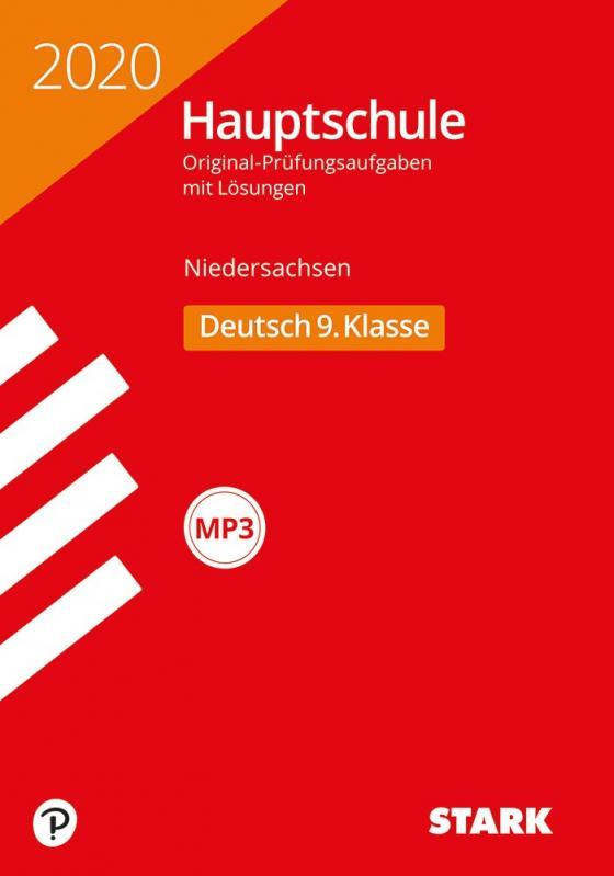 Cover-Bild STARK Original-Prüfungen Hauptschule 2020 - Deutsch 9. Klasse - Niedersachsen