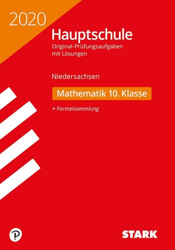 Cover-Bild STARK Original-Prüfungen Hauptschule 2020 - Mathematik 10. Klasse - Niedersachsen