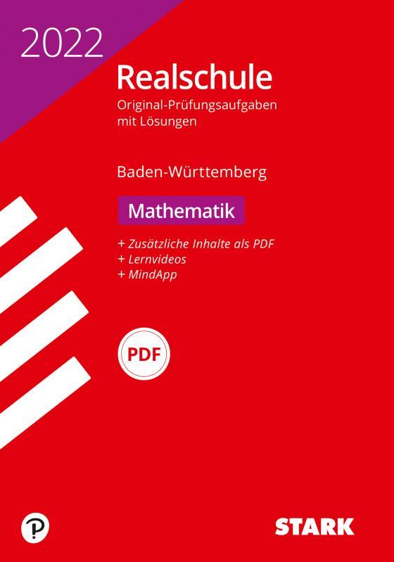 Cover-Bild STARK Original-Prüfungen Realschule 2022 - Mathematik - BaWü