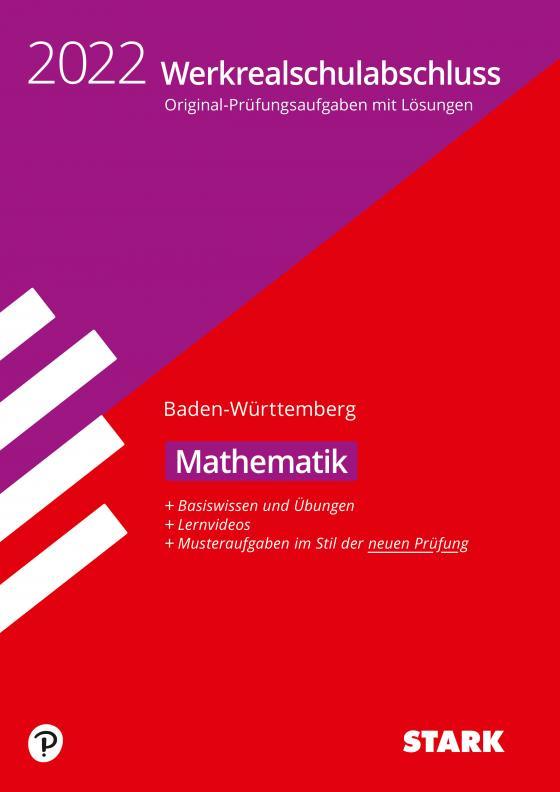 Cover-Bild STARK Original-Prüfungen und Training Werkrealschulabschluss 2022 - Mathematik 10. Klasse - BaWü