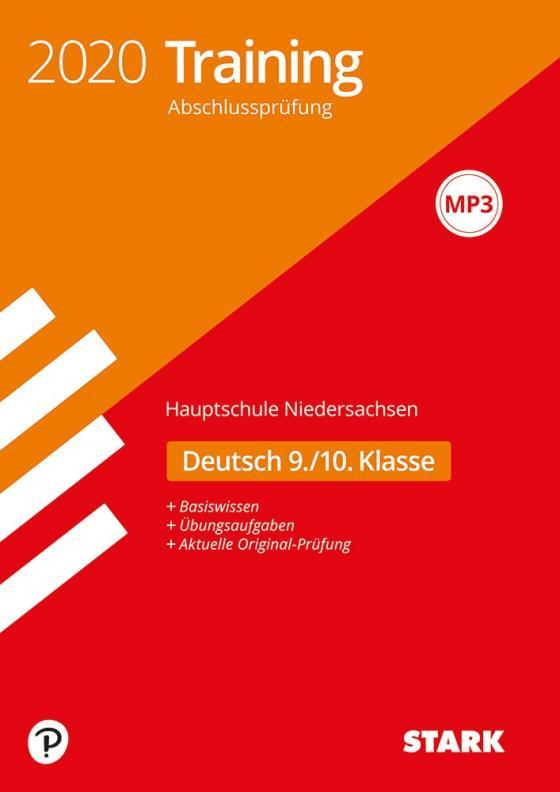 Cover-Bild STARK Training Abschlussprüfung Hauptschule 2020 - Deutsch 9./10. Klasse - Niedersachsen