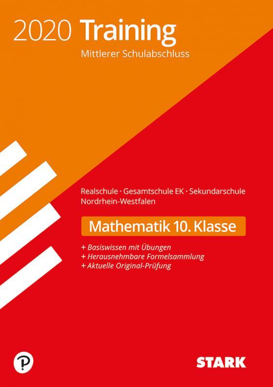 Cover-Bild STARK Training Mittlerer Schulabschluss 2020 - Mathematik - Realschule/Gesamtschule EK/ Sekundarschule - NRW