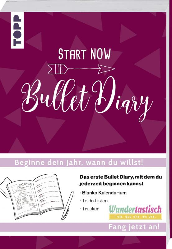 Cover-Bild START NOW - Bullet Diary