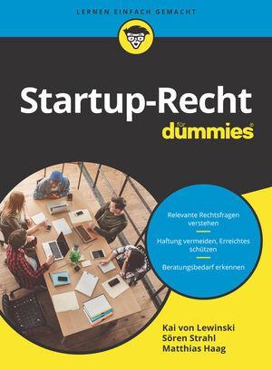 Cover-Bild Startup-Recht für Dummies