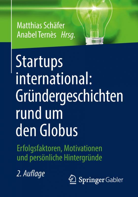 Cover-Bild Startups international: Gründergeschichten rund um den Globus