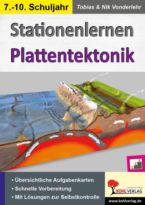 Cover-Bild Stationenlernen Plattentektonik