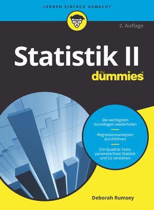 Cover-Bild Statistik II für Dummies