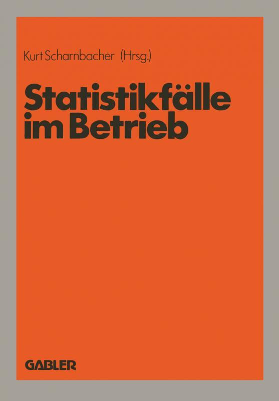 Cover-Bild Statistikfälle im Betrieb