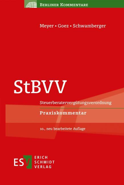 Cover-Bild StBVV