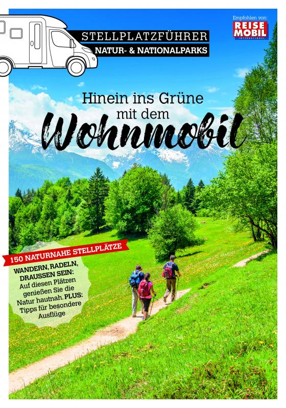 Cover-Bild Stellplatzführer Natur- & Nationalparks