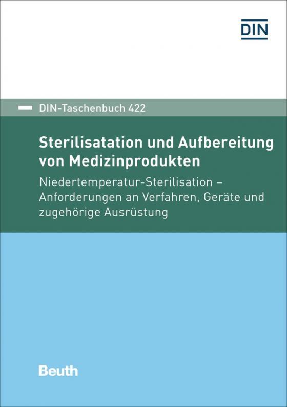 Cover-Bild Sterilisation und Aufbereitung von Medizinprodukten