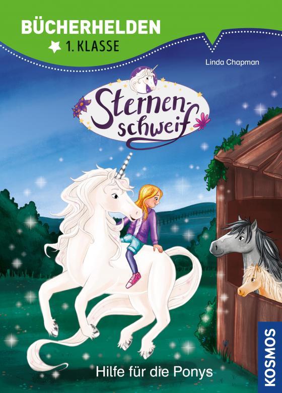 Cover-Bild Sternenschweif, Bücherhelden 1. Klasse, Hilfe für die Ponys