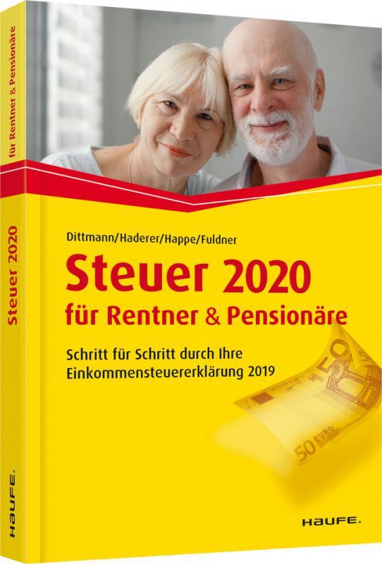Cover-Bild Steuer 2020 für Rentner und Pensionäre - inklusive Arbeitshilfen online