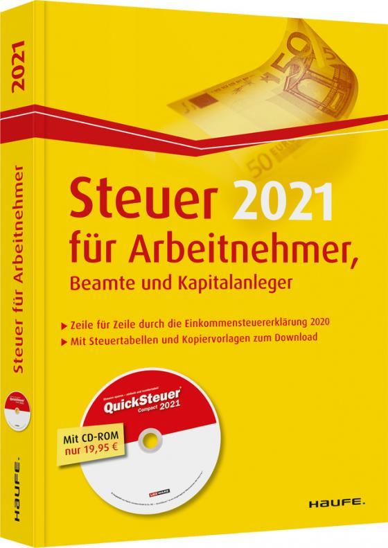 Steuer 2021 für Arbeitnehmer, Beamte und Kapitalanleger ...