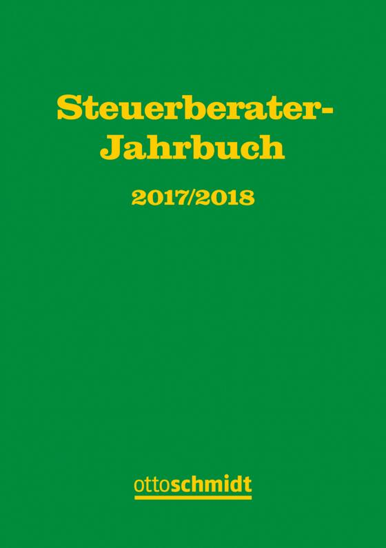Cover-Bild Steuerberater-Jahrbuch 2017/2018