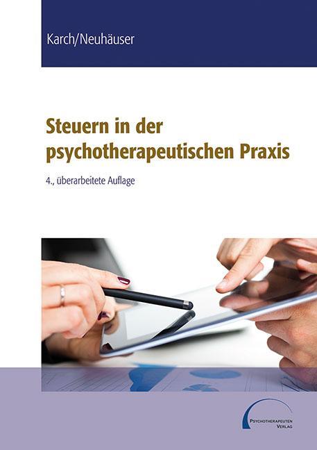 Cover-Bild Steuern in der psychotherapeutischen Praxis