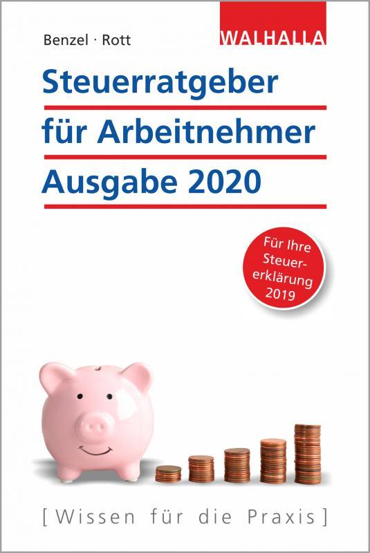 Cover-Bild Steuerratgeber für Arbeitnehmer - Ausgabe 2020