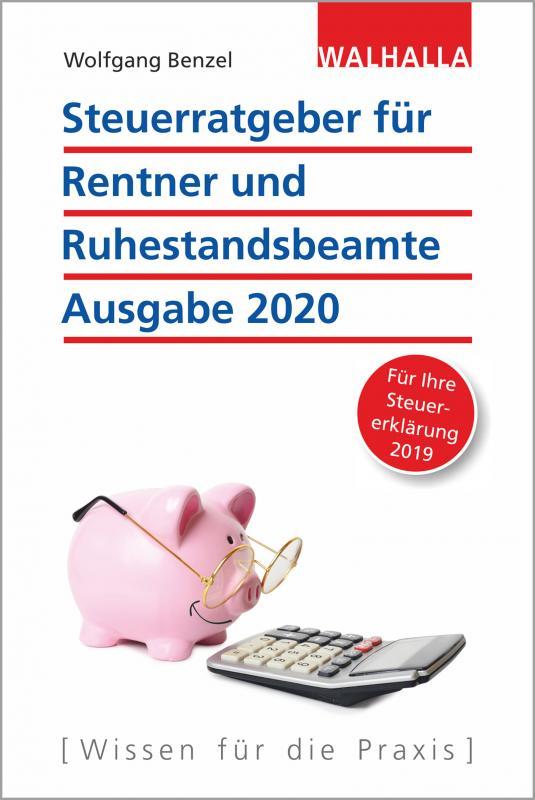 Cover-Bild Steuerratgeber für Rentner und Ruhestandsbeamte - Ausgabe 2020