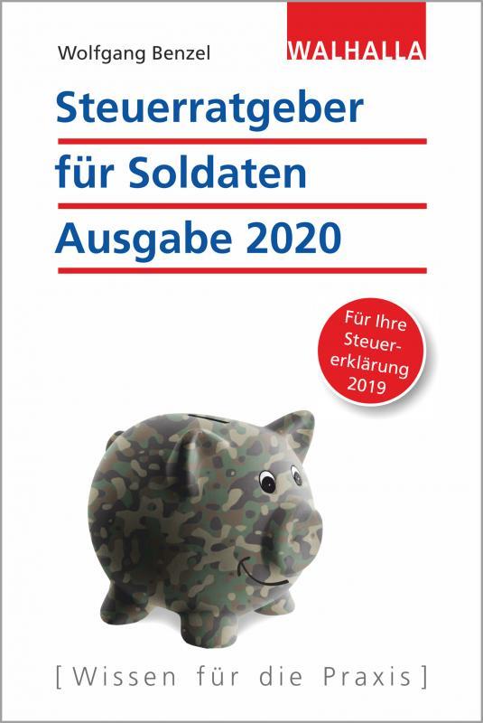 Cover-Bild Steuerratgeber für Soldaten - Ausgabe 2020