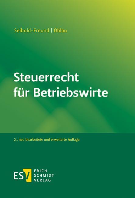 Cover-Bild Steuerrecht für Betriebswirte
