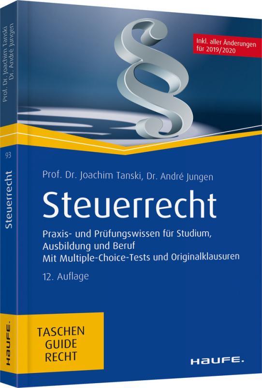 Cover-Bild Steuerrecht - inkl. Jahressteuergesetz 2018