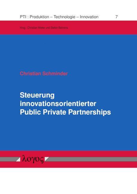 Cover-Bild Steuerung innovationsorientierter Public Private Partnerships