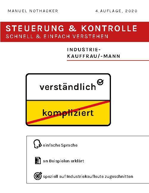 Cover-Bild Steuerung und Kontrolle schnell & einfach verstehen - Industriekauffrau / Industriekaufmann