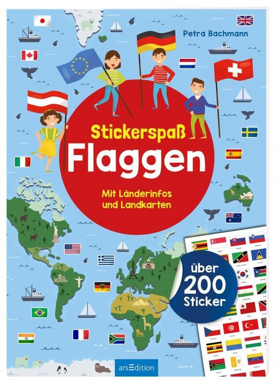 Cover-Bild Stickerspaß Flaggen