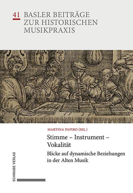 Cover-Bild Stimme – Instrument – Vokalität
