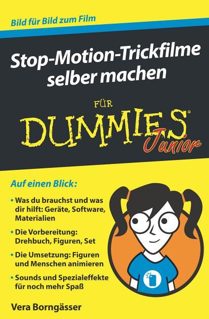 Cover-Bild Stop-Motion-Trickfilme selber machen für Dummies Junior