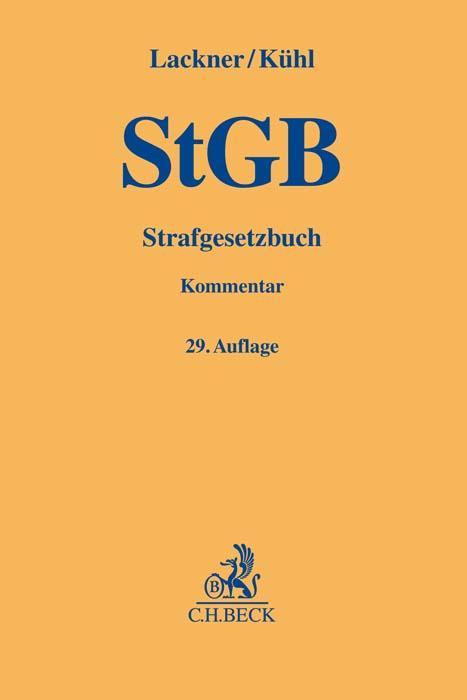 Cover-Bild Strafgesetzbuch