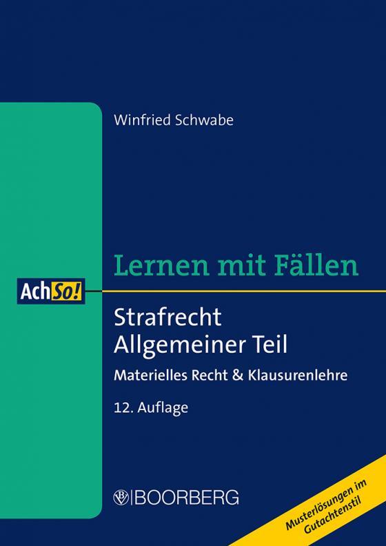 Cover-Bild Strafrecht Allgemeiner Teil