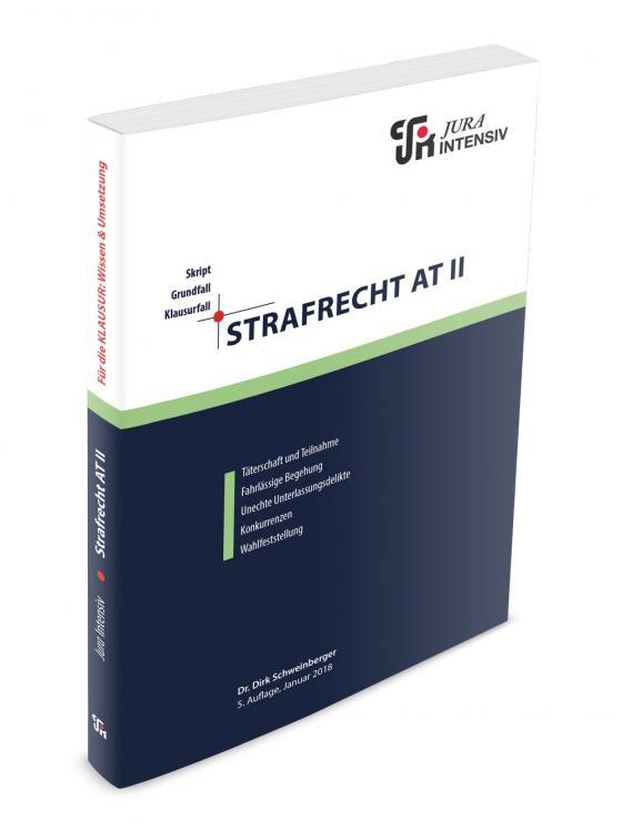 Cover-Bild Strafrecht AT II