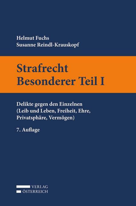 Cover-Bild Strafrecht Besonderer Teil I