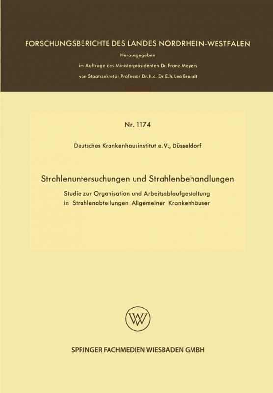 Cover-Bild Strahlenuntersuchungen und Strahlenbehandlungen