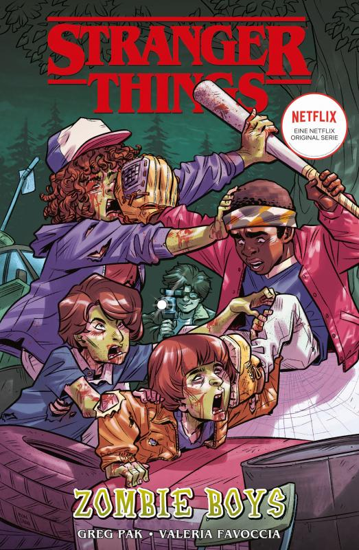Cover-Bild Stranger Things Comics: Zombie Boys