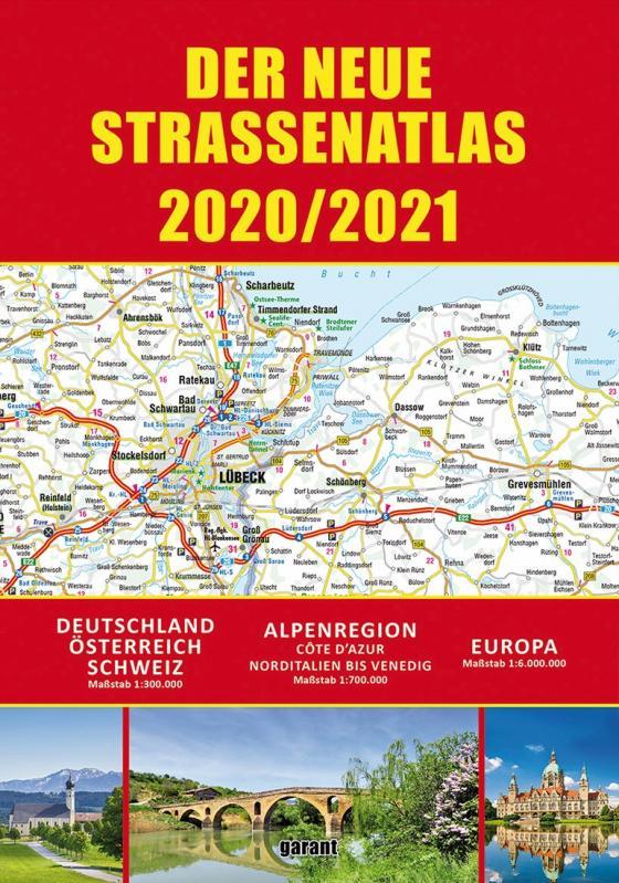 Cover-Bild Straßenatlas 2020/2021 Deutschland/Europa