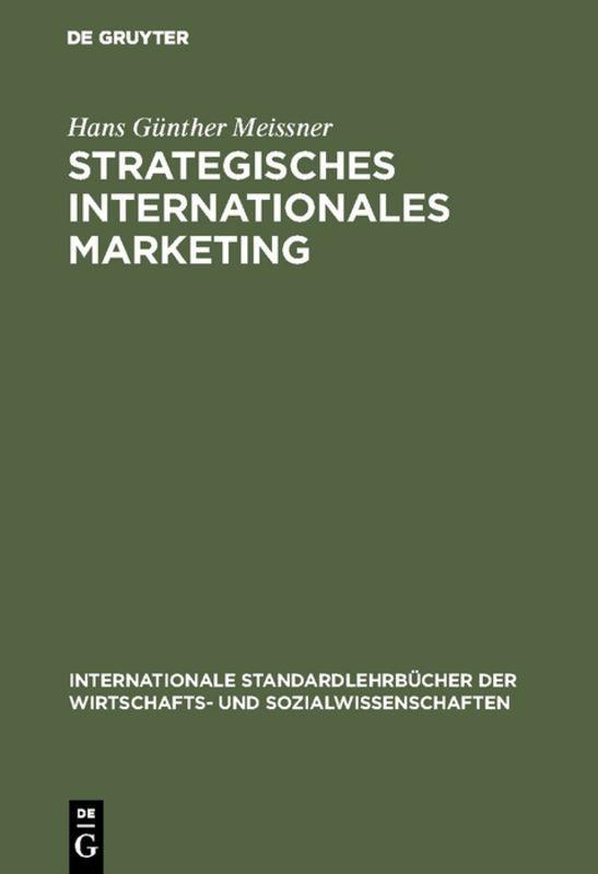 Cover-Bild Strategisches Internationales Marketing